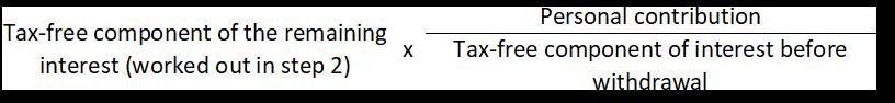 formula step 3